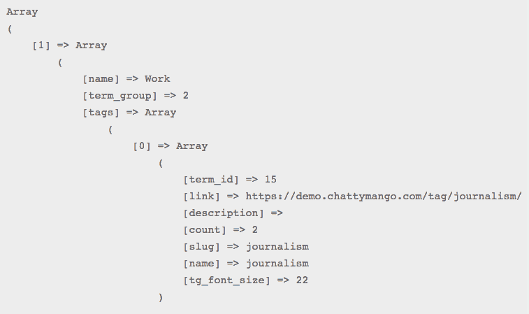 Screenshot-TG-PHP output